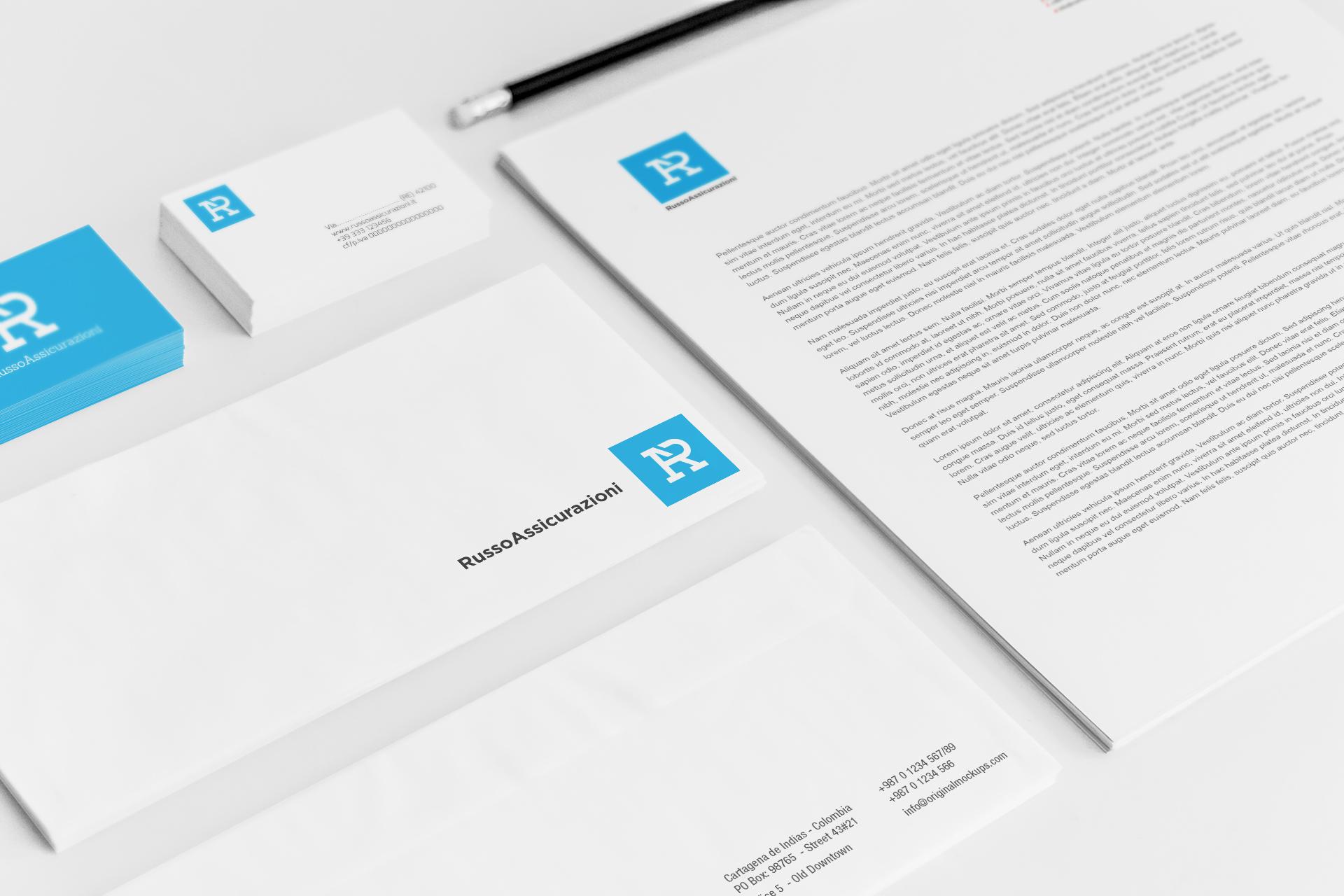 brand-identity-russo-assicurazione-studiograficodr